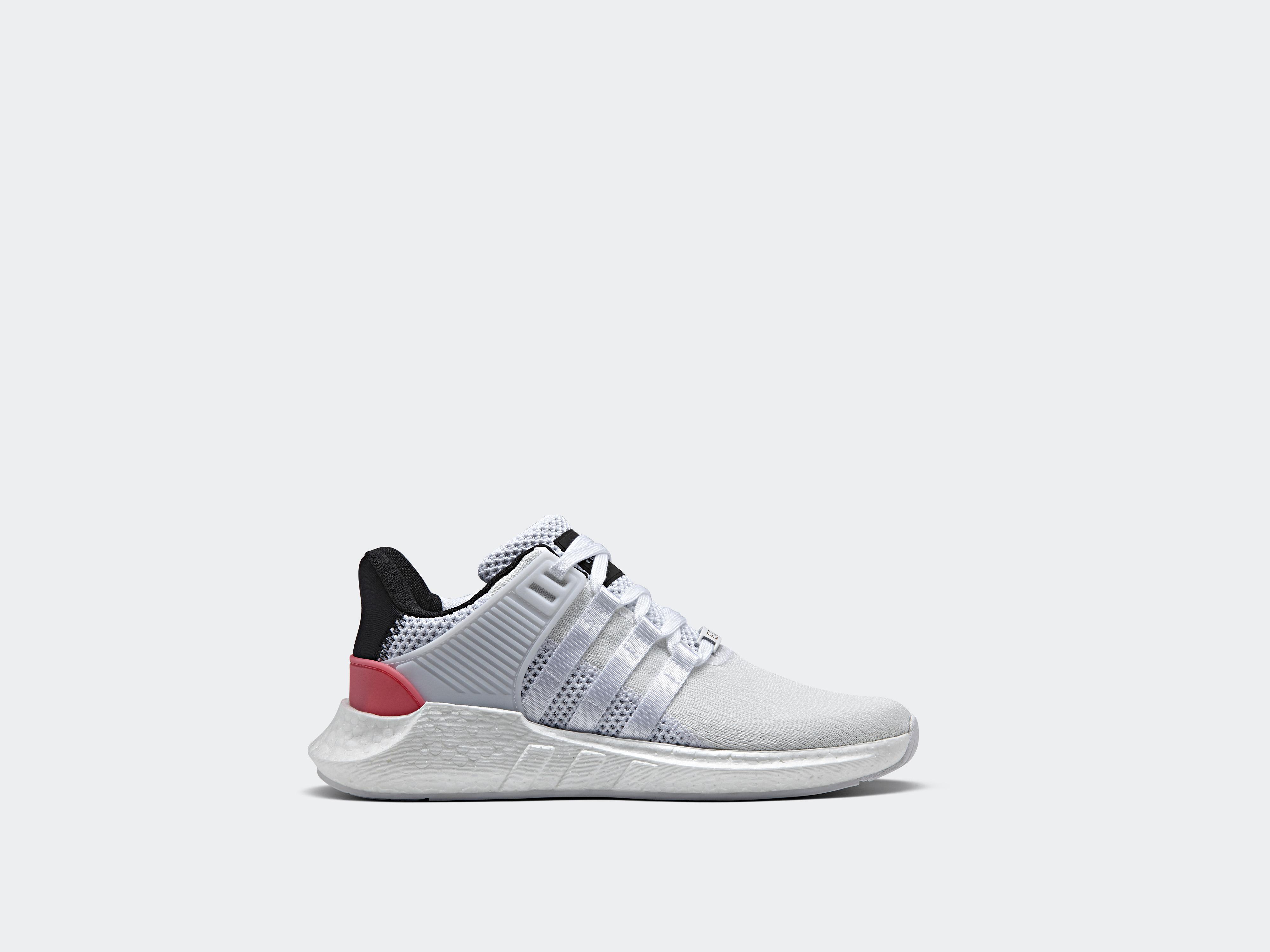 adidas Originals EQT Support 93 17 White Turbo Red 2