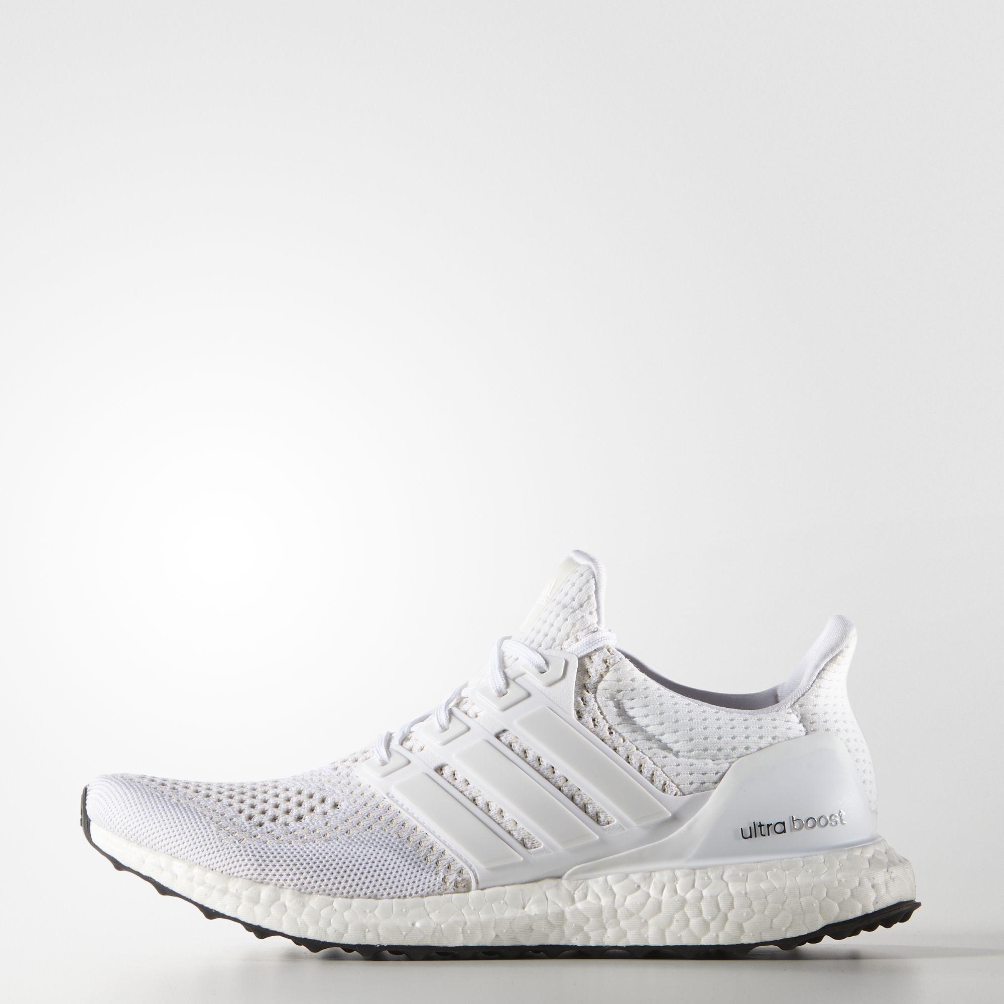 adidas Ultra Boost Triple White S77416 1