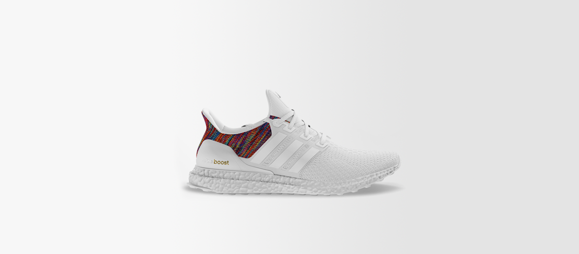 adidas mi Ultra Boost Multicolor Rainbow