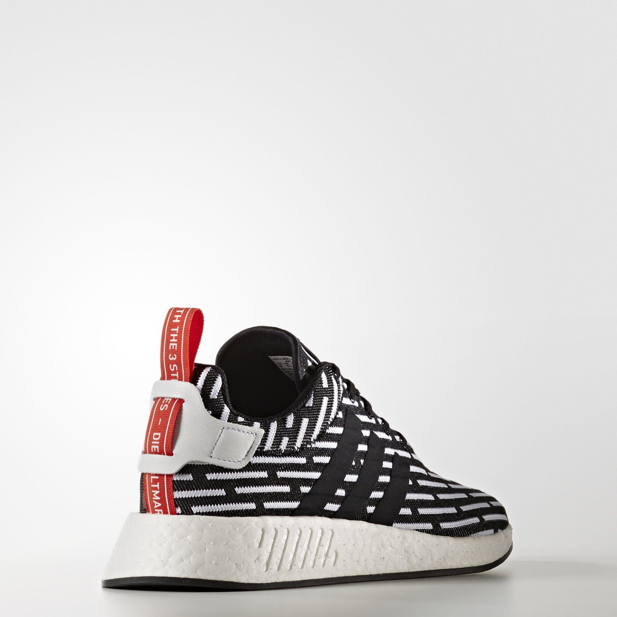 adidas nmd r2 primeknit Zebra BB2951 4