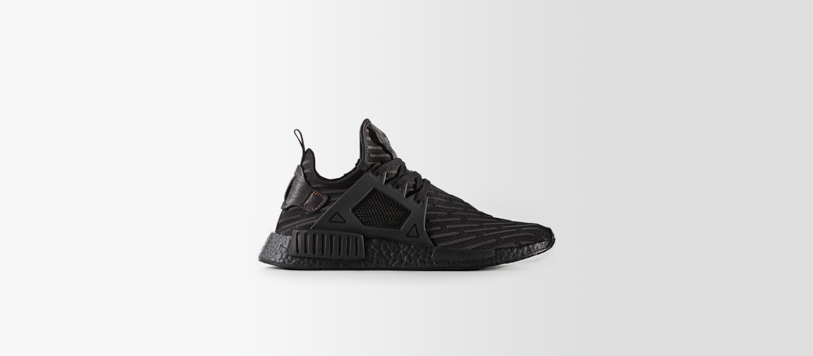 adidas nmd xr1 primeknit black core red BA7214
