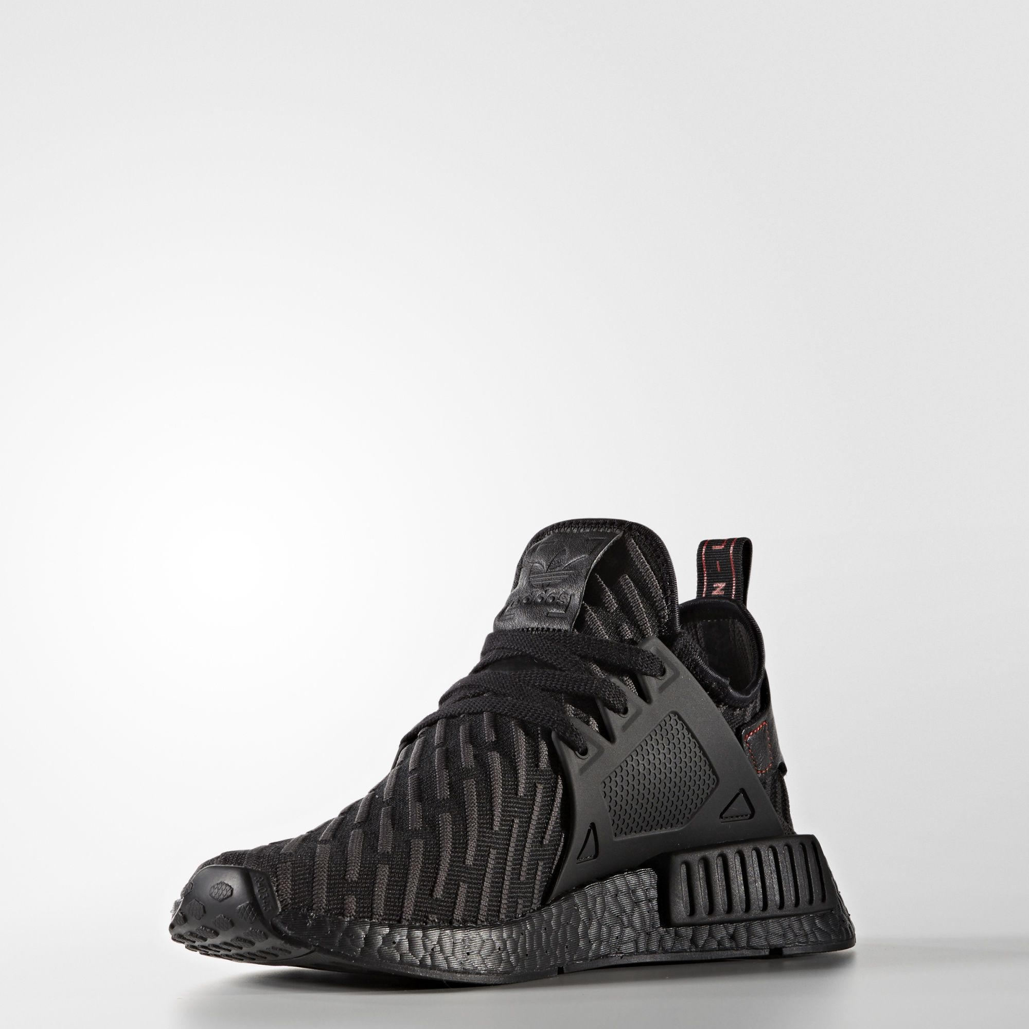 adidas nmd xr1 primeknit black core red BA7214 3