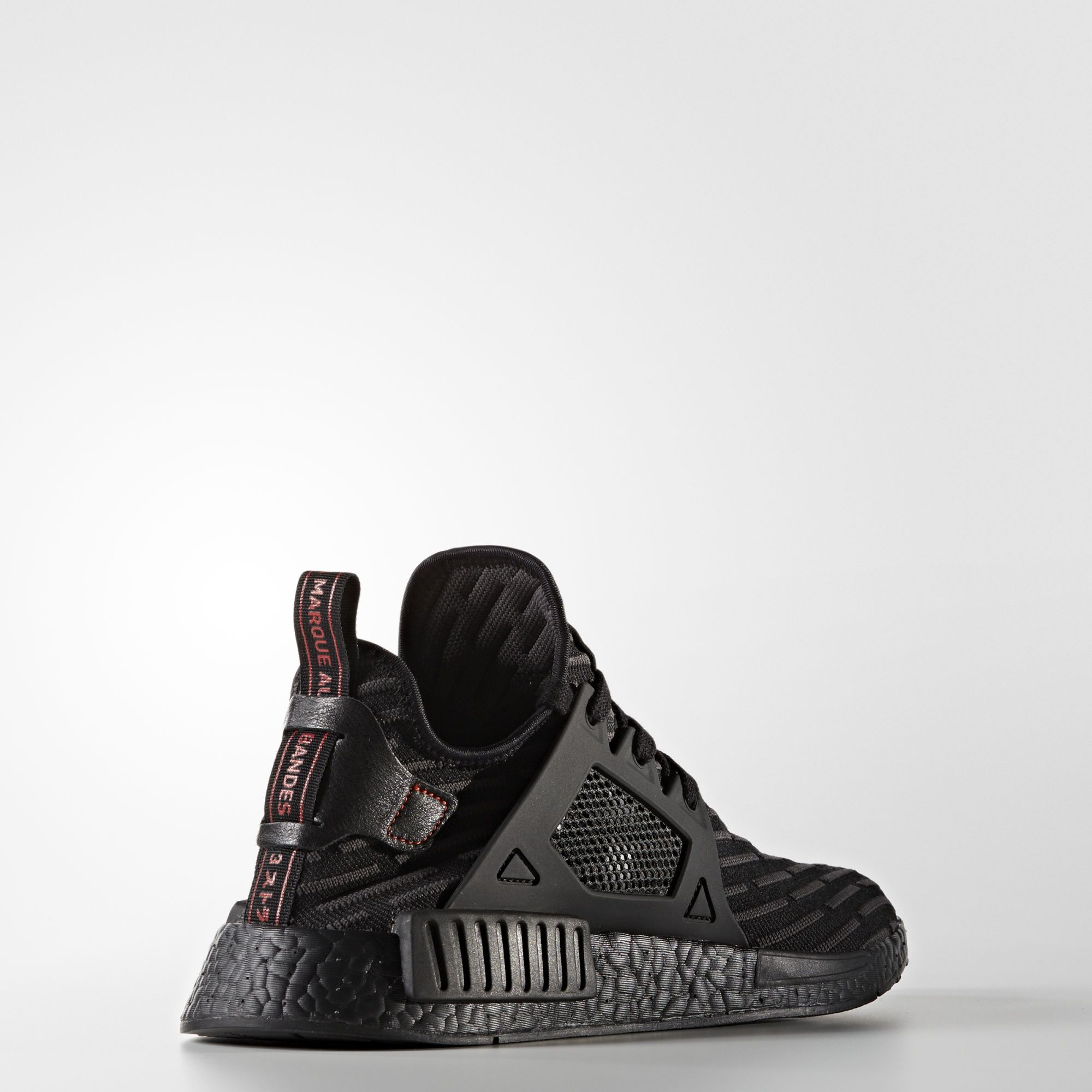 adidas nmd xr1 primeknit black core red BA7214 4