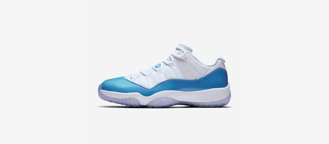 Air Jordan 11 Retro Low University Blue 528895 106