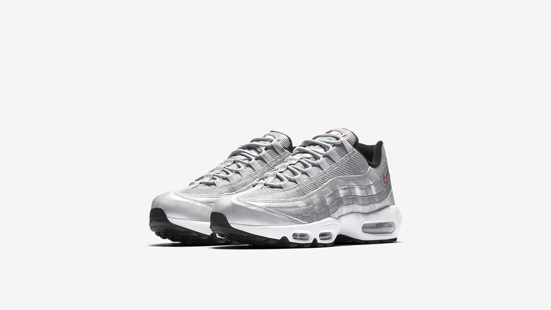 Nike Air Max 95 PRM Metallic Silver 918359 001 1
