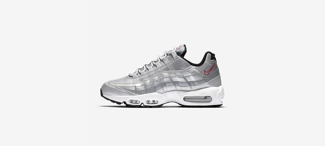 Nike Air Max 95 PRM Metallic Silver 918359 001 1110x500
