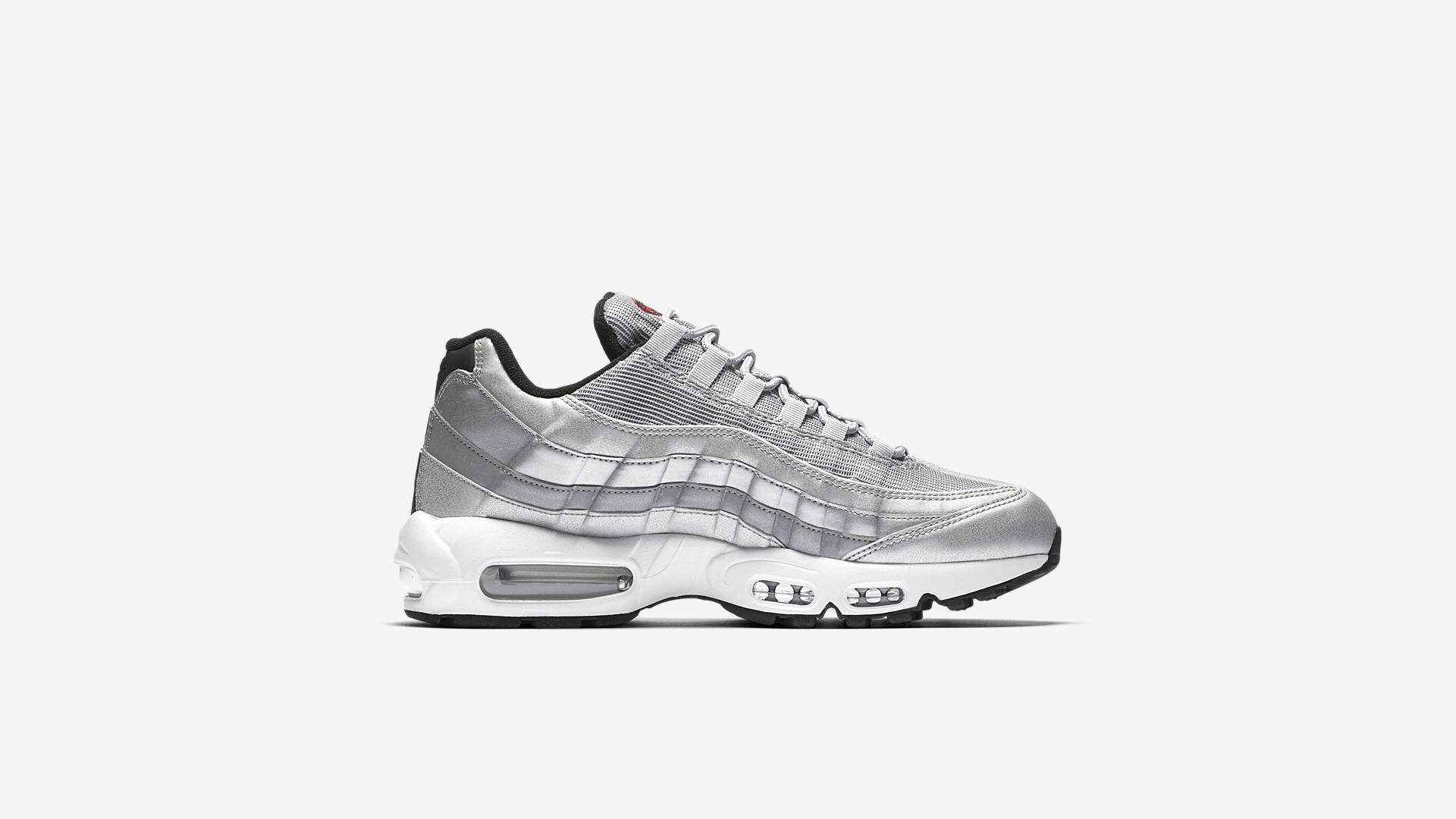 Nike Air Max 95 PRM Metallic Silver 918359 001 3