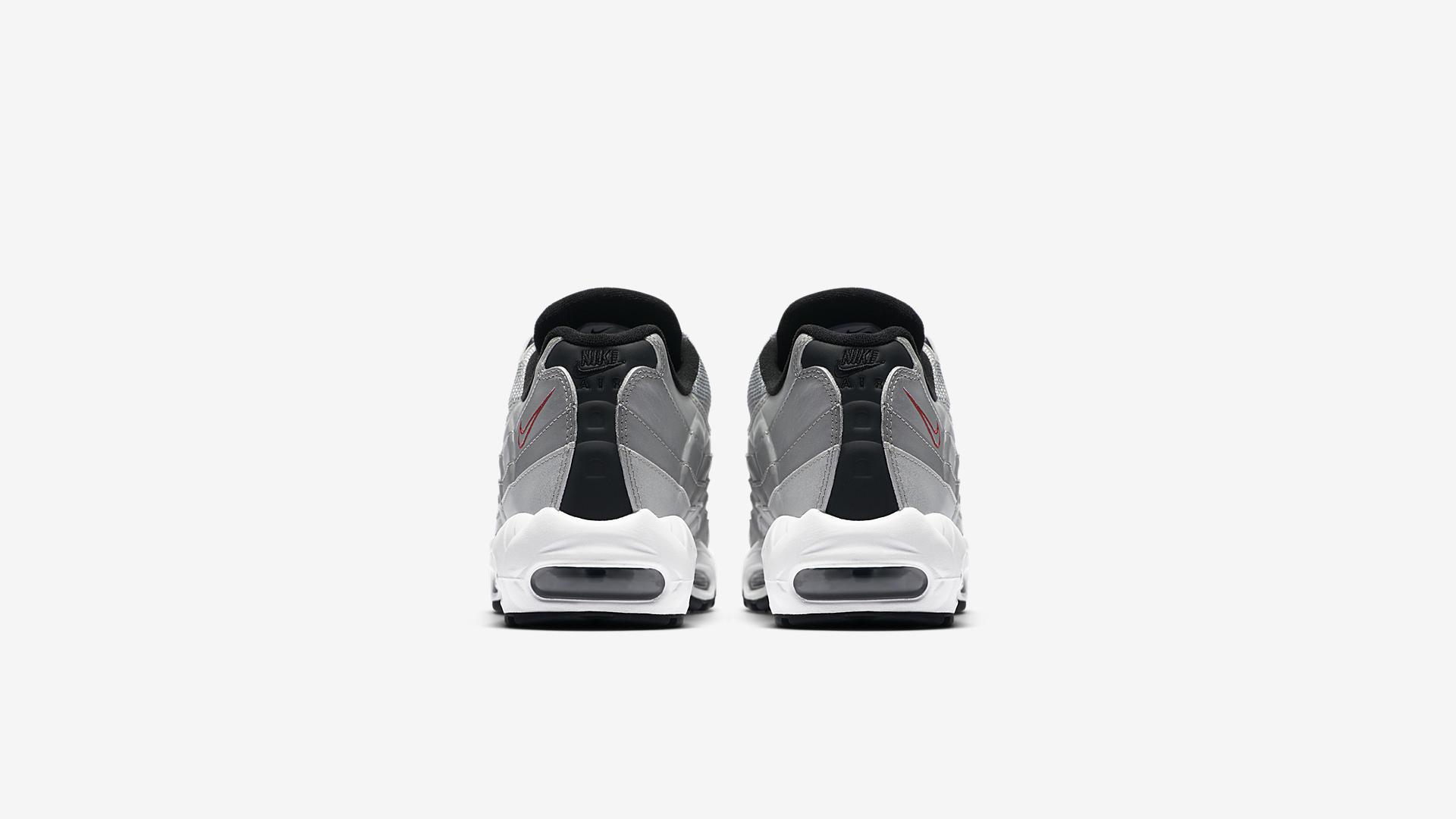 Nike Air Max 95 PRM Metallic Silver 918359 001 5