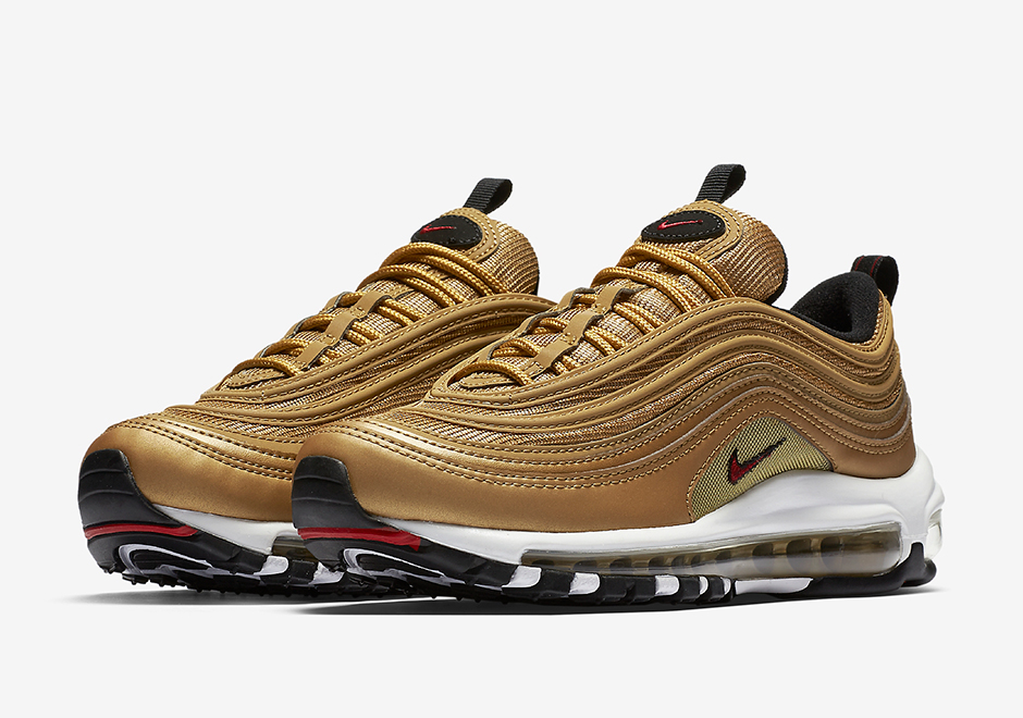 Nike Air Max 97 Metallic Gold 1