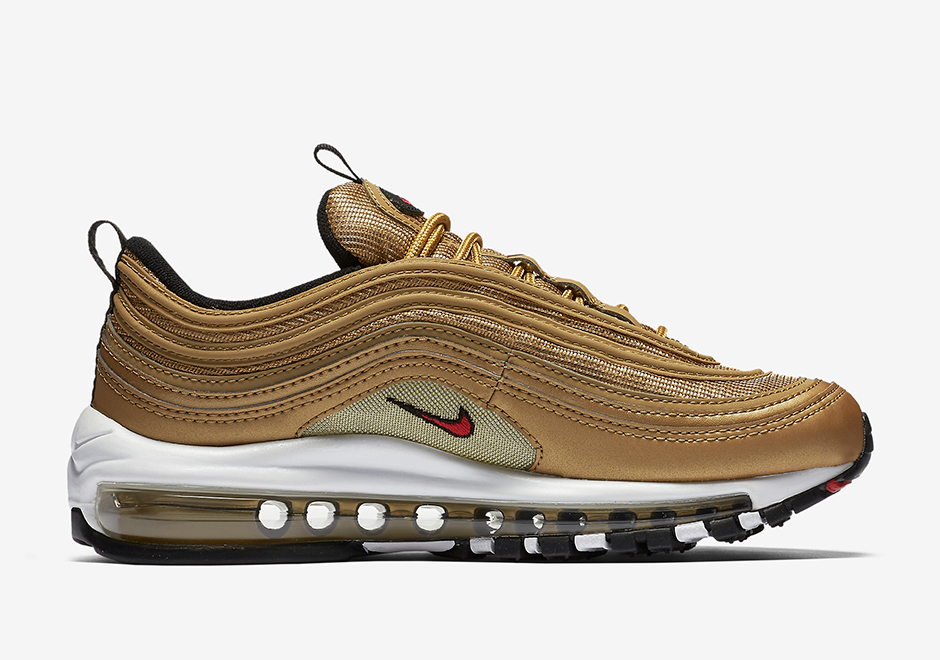 Nike Air Max 97 Metallic Gold 2