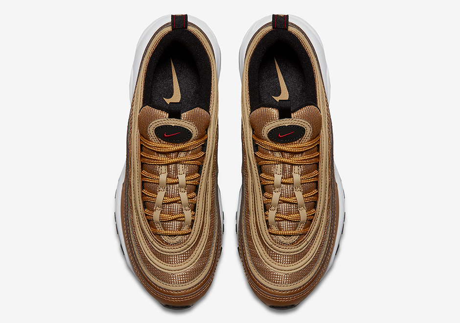 Nike Air Max 97 Metallic Gold 3