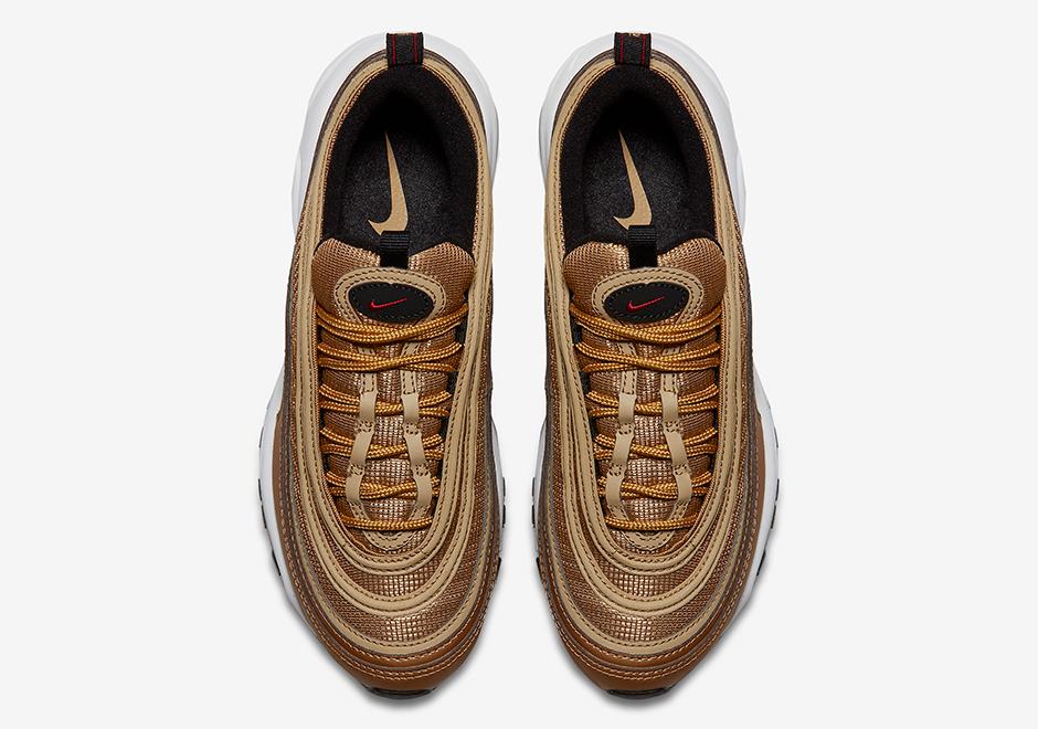 Nike Air Max 97 Metallic Gold 3