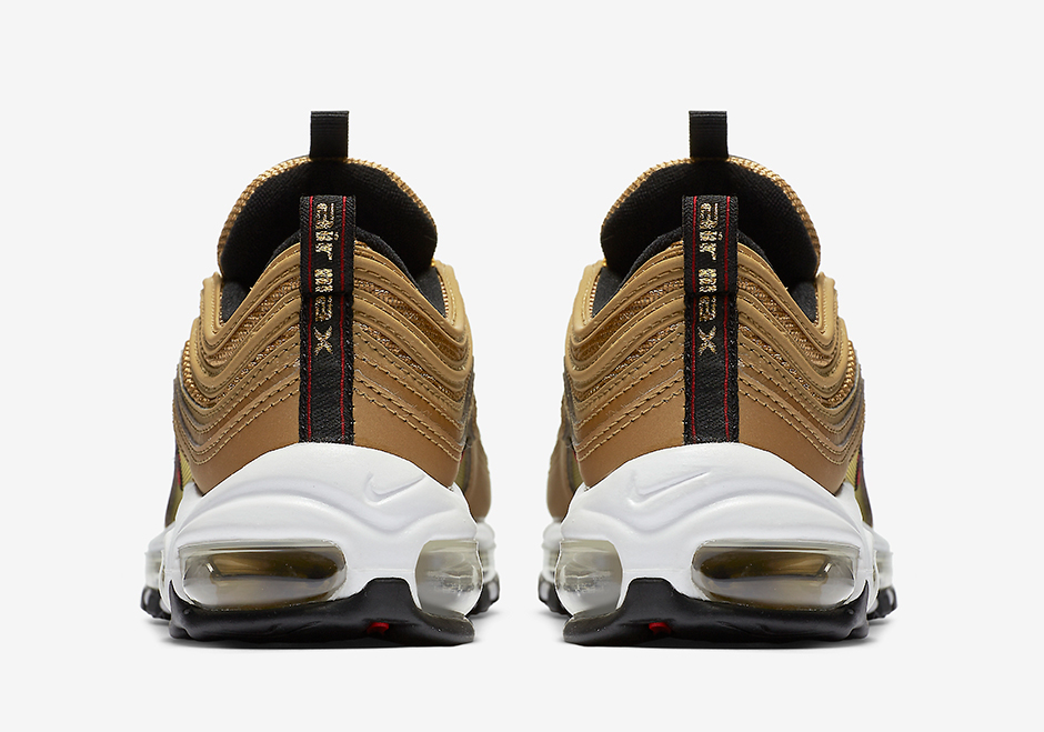 Nike Air Max 97 Metallic Gold 4