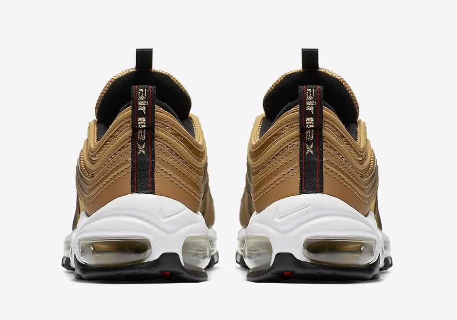 Nike Air Max 97 Metallic Gold 4