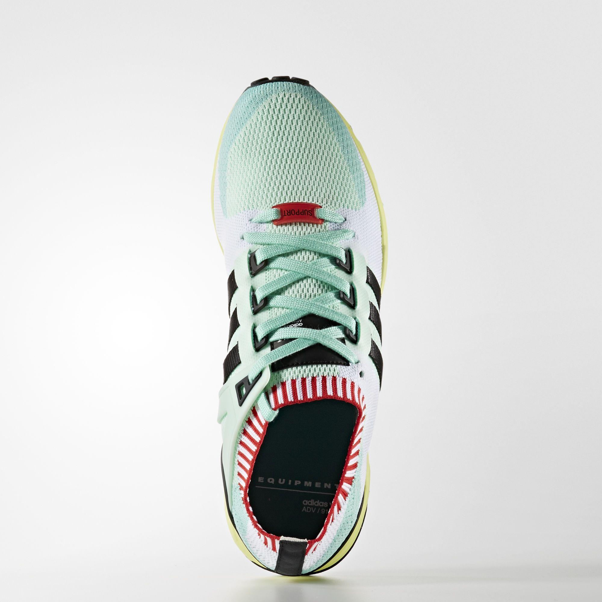 adidas EQT Support RF Primeknit Frozen Green BA7506 1
