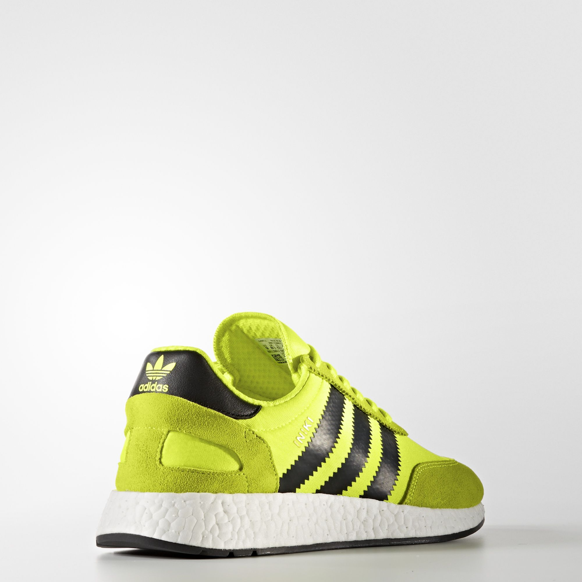 adidas Iniki Runner Solar Yellow BB2094 4
