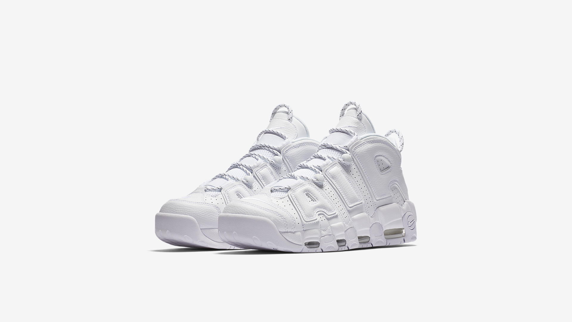 Nike Air More Uptempo Triple White 921948 100 1
