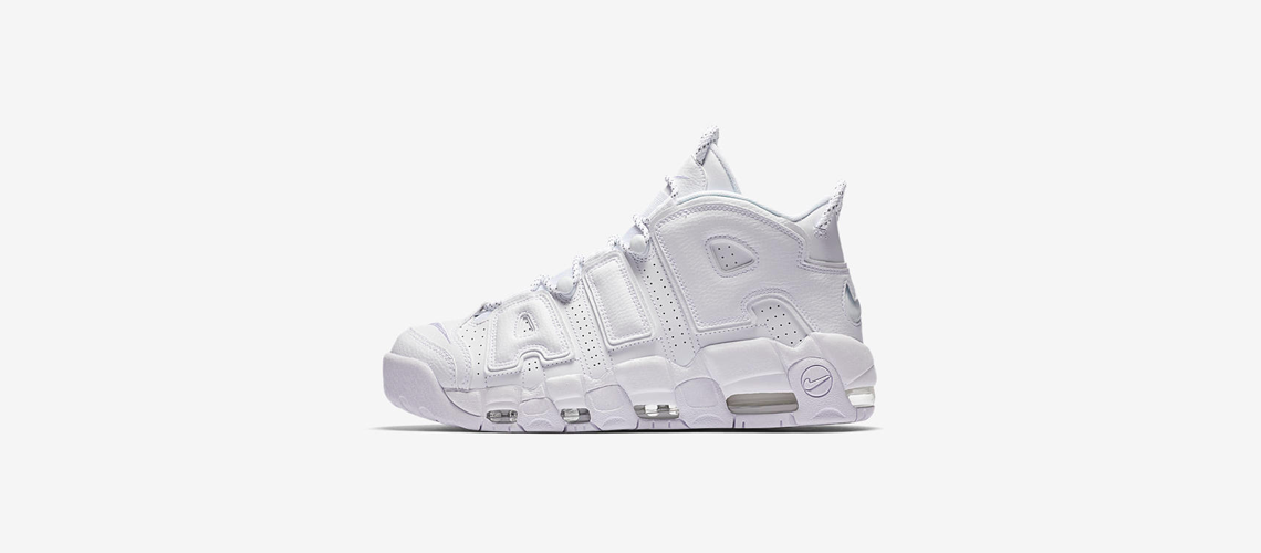 Nike Air More Uptempo Triple White 921948 100