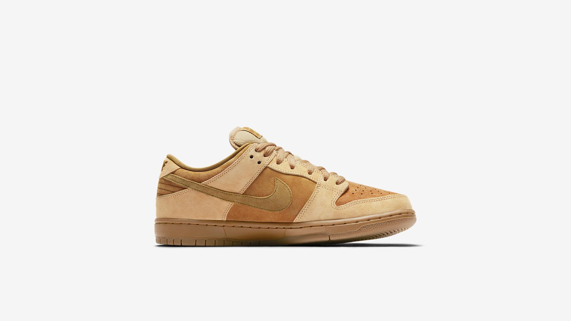 Nike SB Dunk Low Pro Wheat 883232 700 3