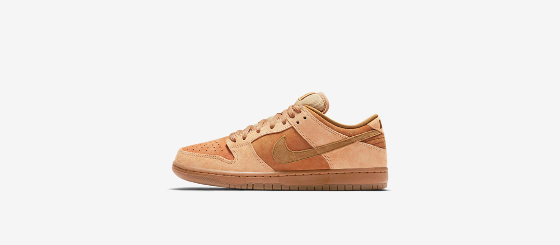 Nike SB Dunk Low Pro Wheat 883232 700