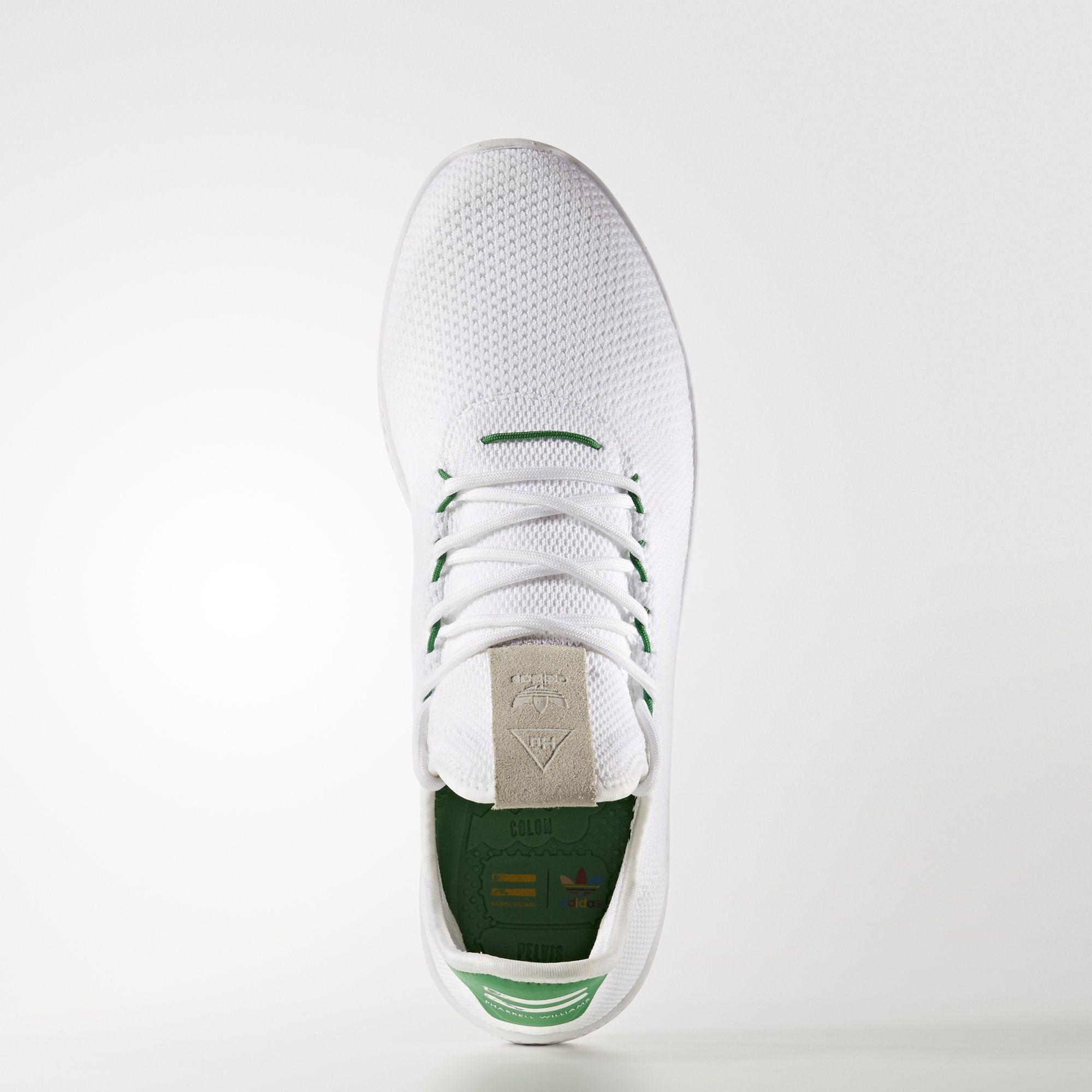 Pharrell Williams x adidas Tennis HU Primeknit Green BA7828 1
