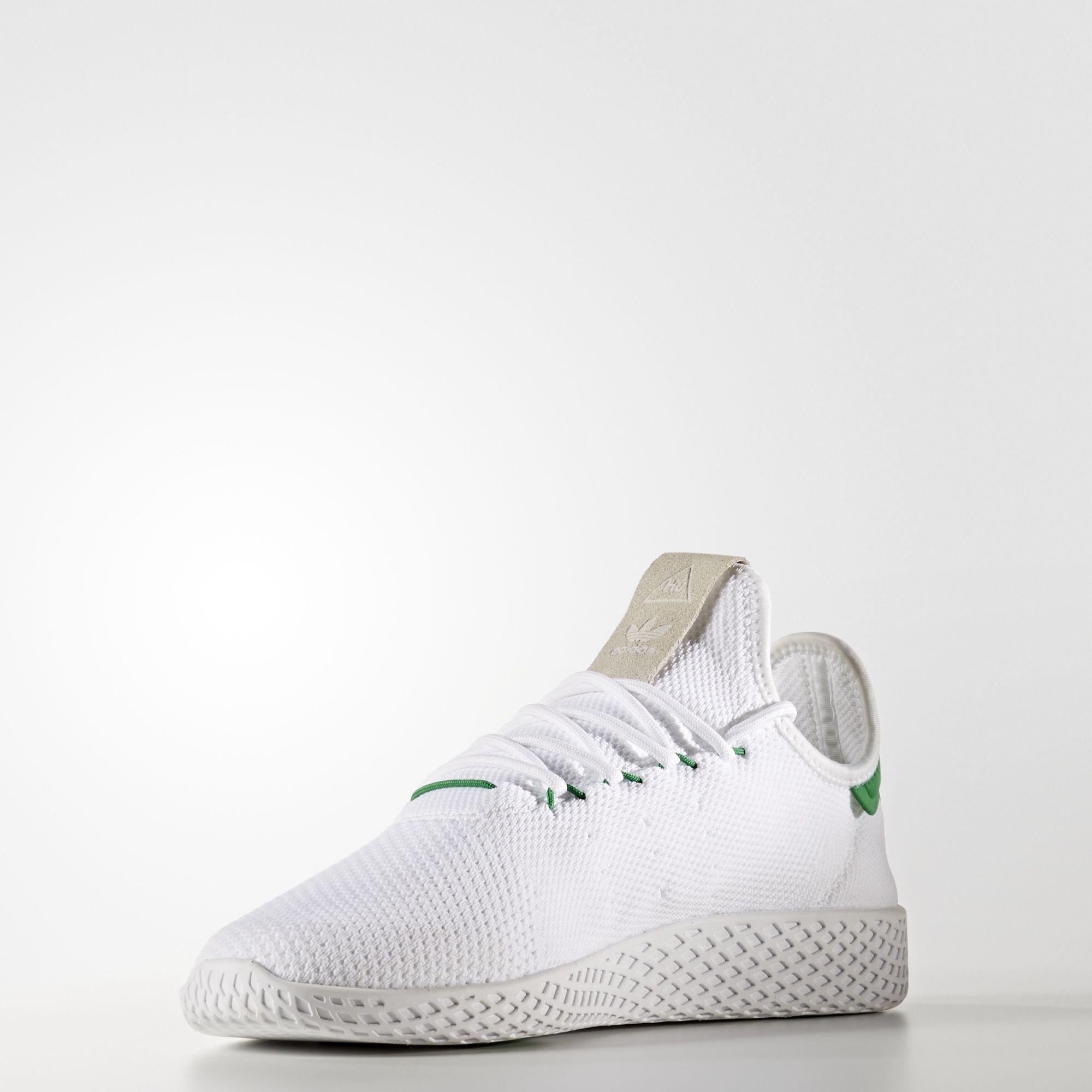 Pharrell Williams x adidas Tennis HU Primeknit Green BA7828 2