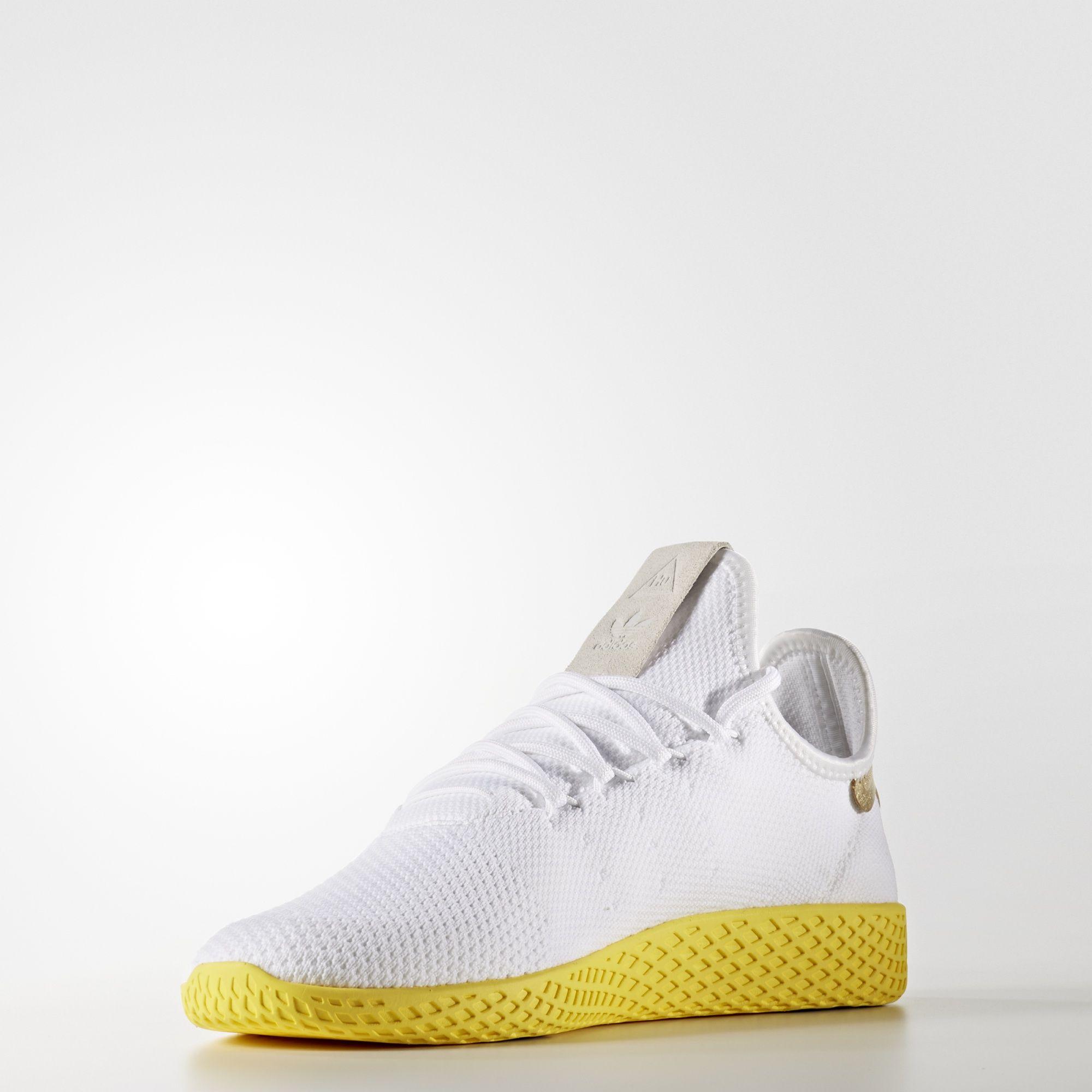 Pharrell Williams x adidas Tennis HU Primeknit Yellow BY2674 2