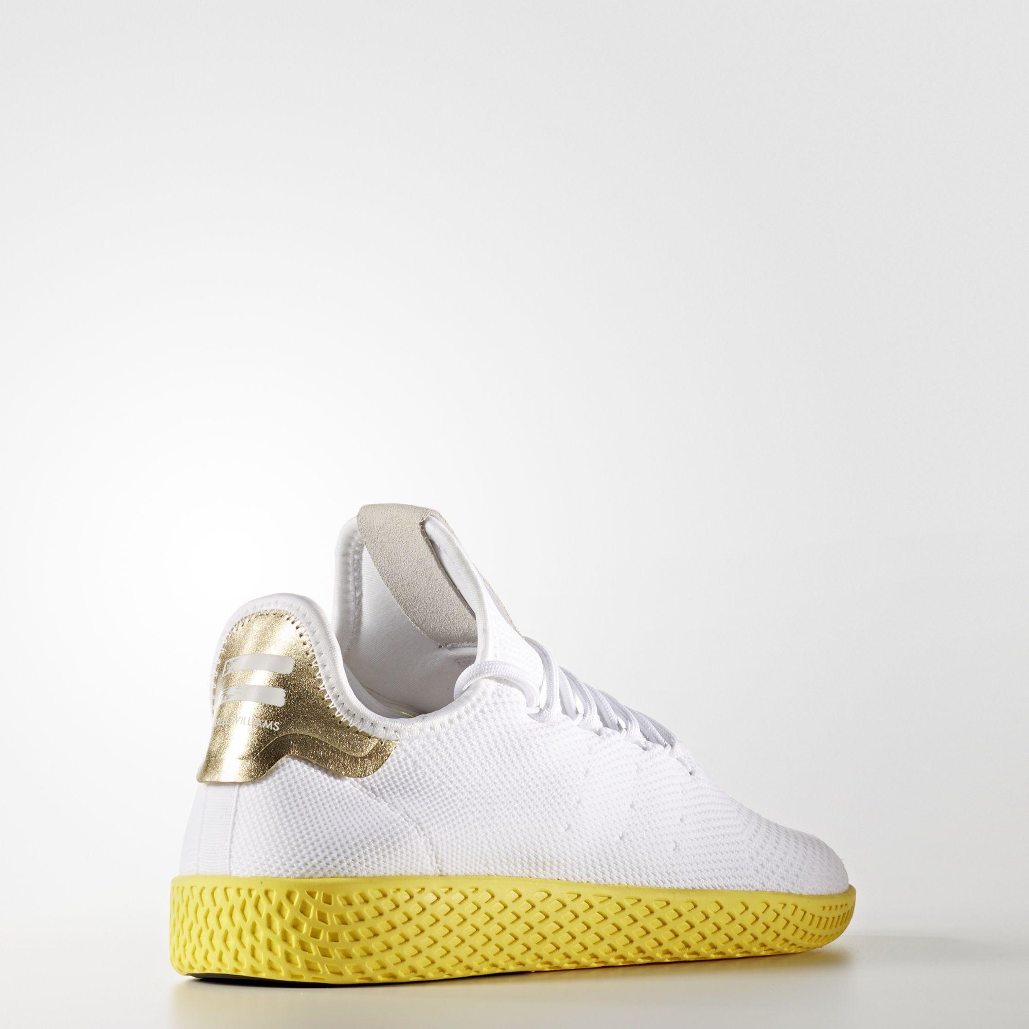 Pharrell Williams x adidas Tennis HU Primeknit Yellow BY2674 3