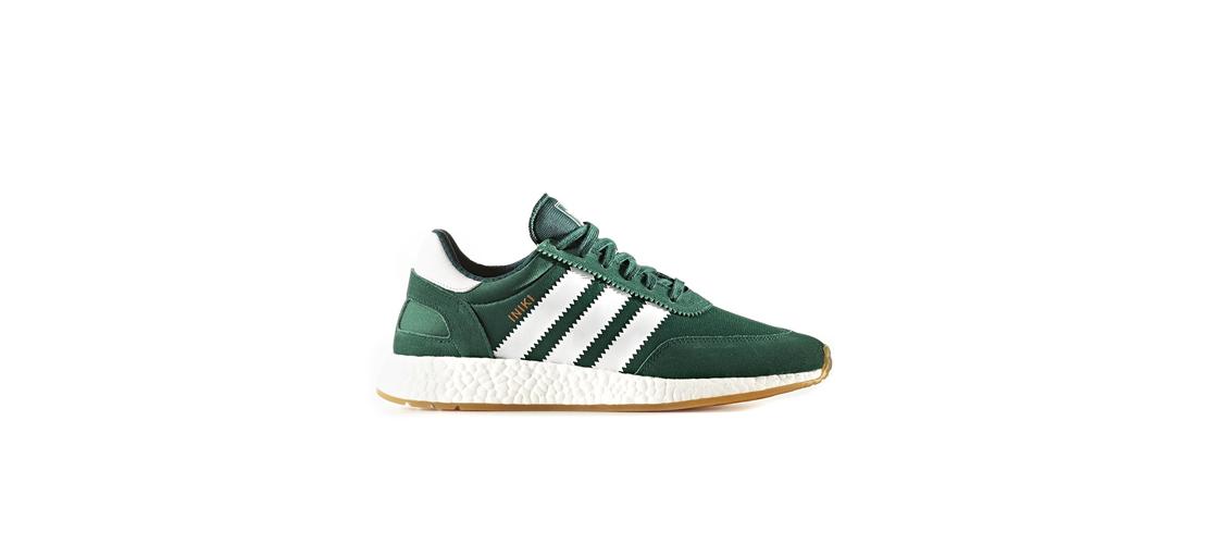 adidas Iniki Runner Green White BY9726 1110x500