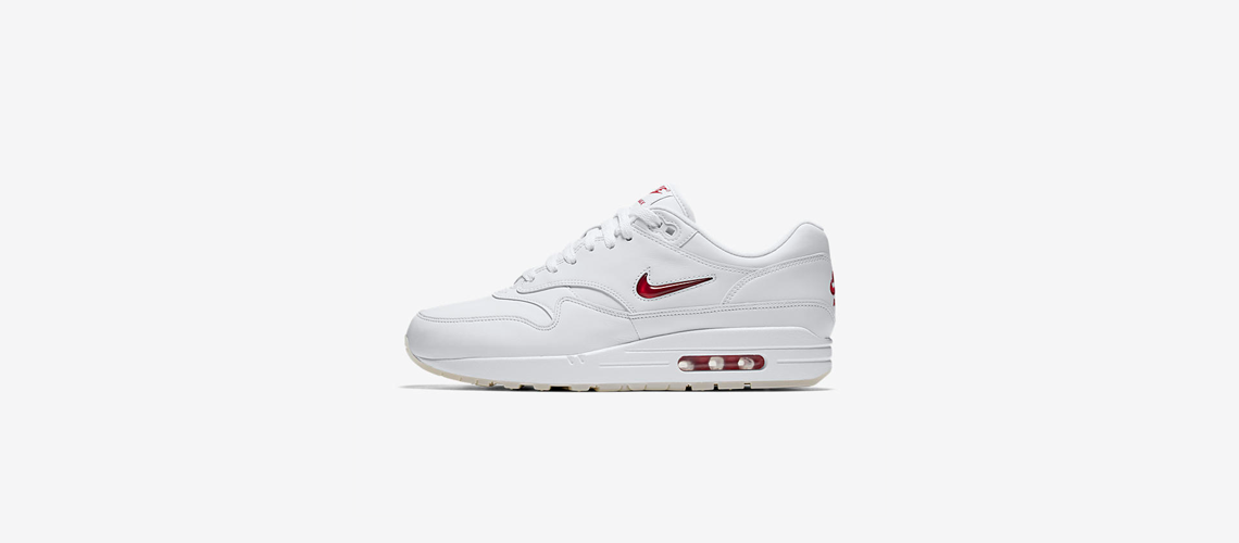 Nike Air Max 1 Jewel Rare Ruby 918354 104
