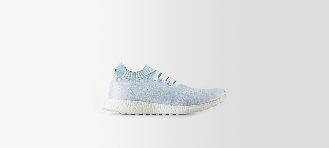 Parley x adidas Ultra Boost Uncaged Icey Blue CP9686 1110x500