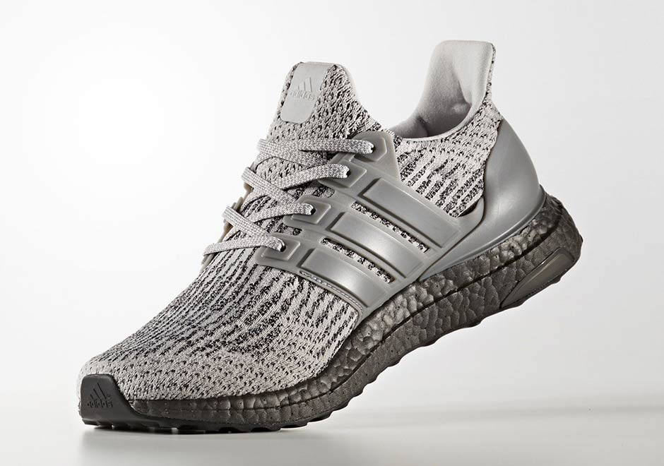 adidas Ultra Boost 3 Triple Grey CG3041 2