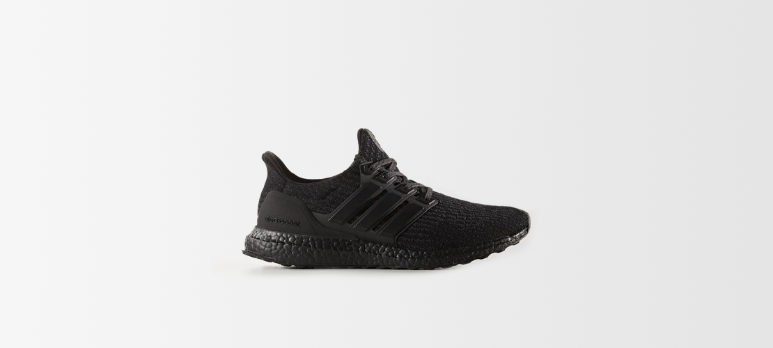 adidas Ultra Boost 3.0 Triple Black CG3038 1110x500