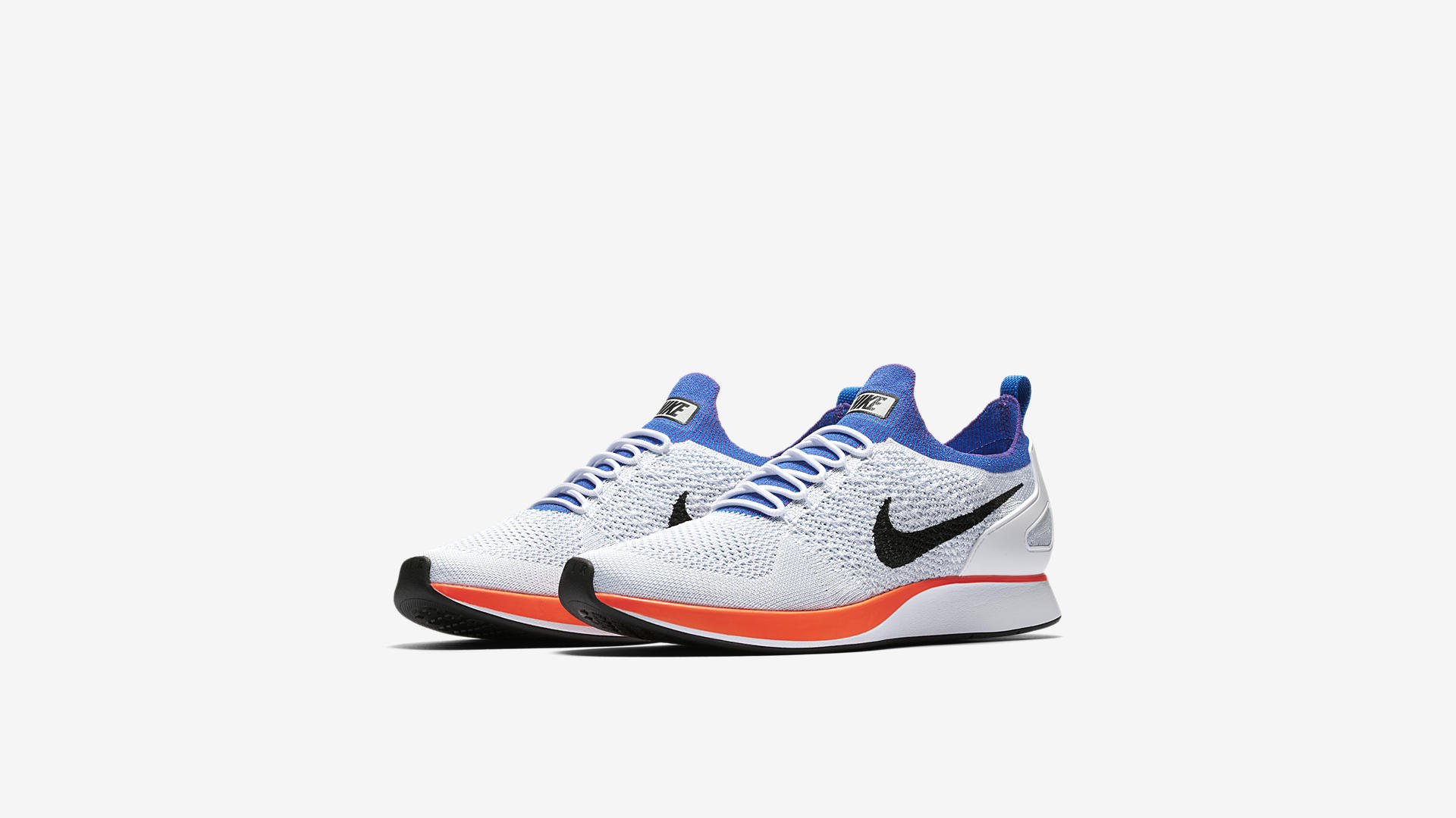 nike air max zoom mariah flyknit racer Weiß orange