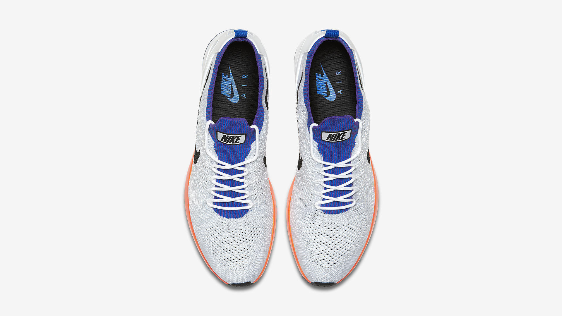 nike air zoom mariah flyknit racer white hyper grape 918264 100 3