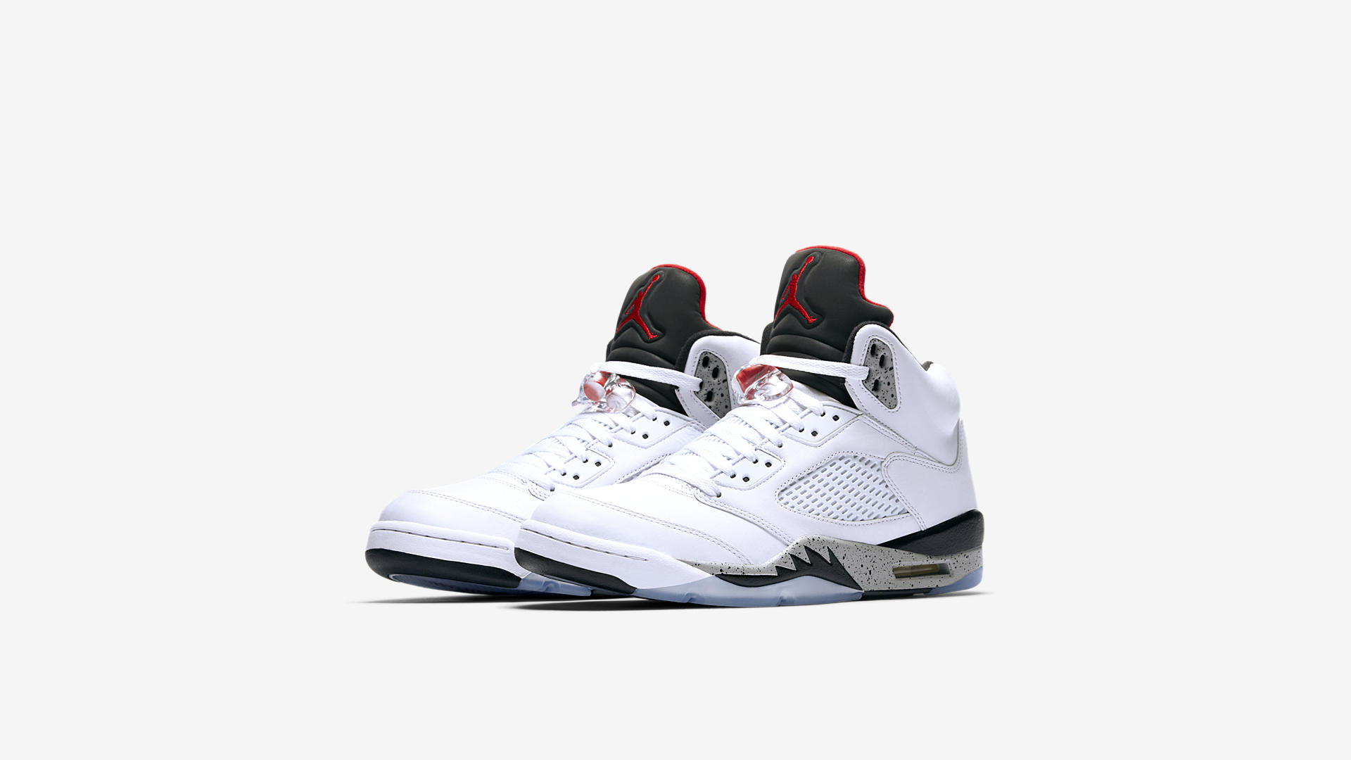 136027 104 Air Jordan 5 Retro White Cement 1