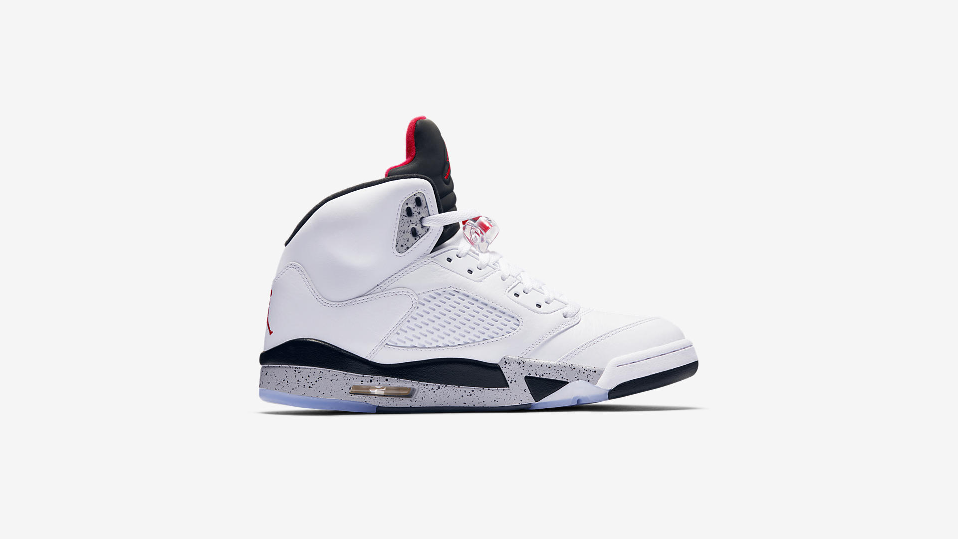 136027 104 Air Jordan 5 Retro White Cement 4