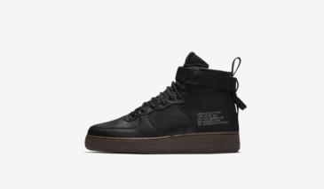 Nike SF Air Force 1 Mid – Black / Dark Hazel