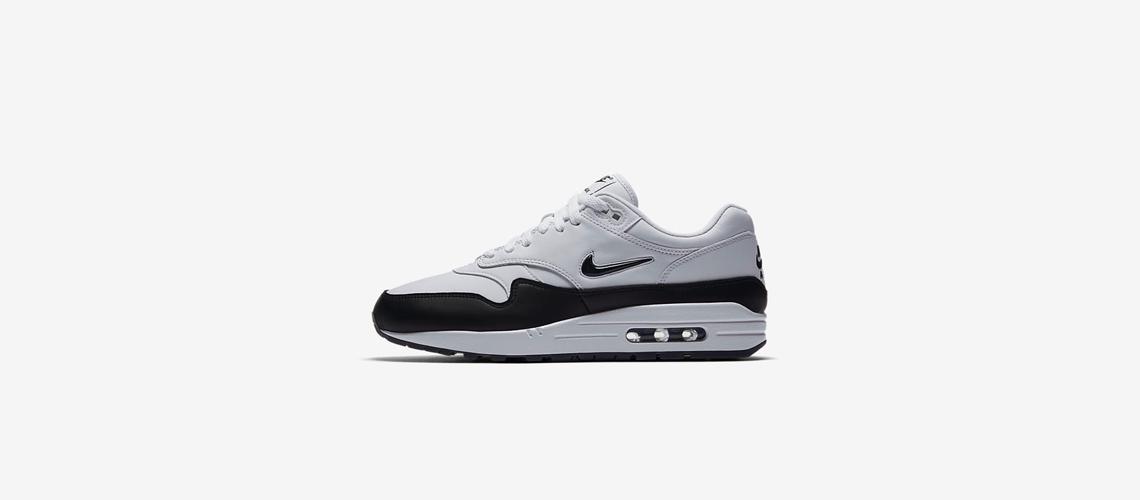 more photos 07b7c d0aab Nike Air Max 1 Premium Jewel – Black