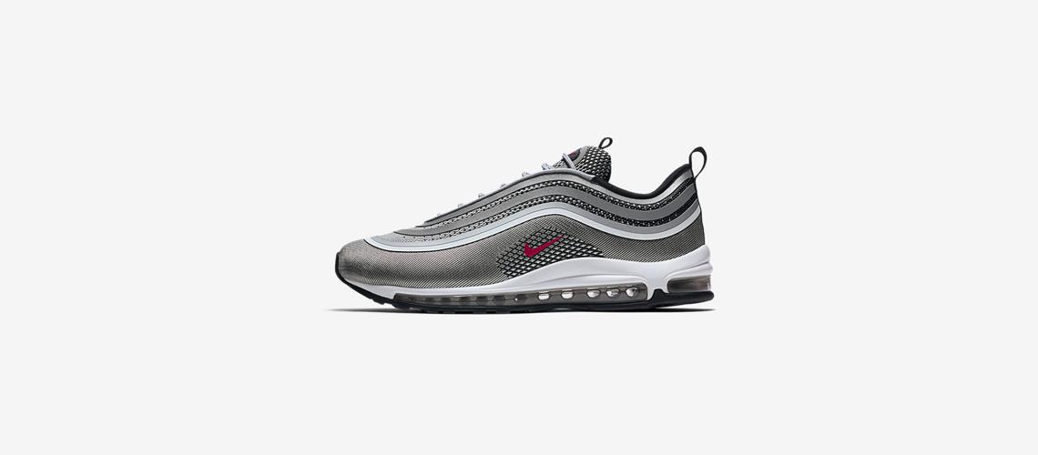 918356 003 Nike Air Max 97 Ultra Metallic Silver