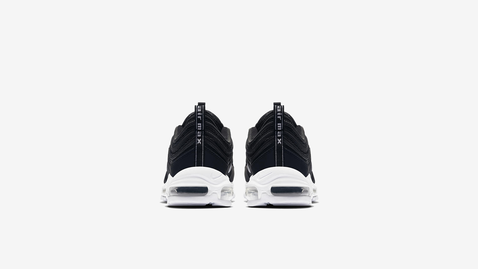 921826 001 Nike Air Max 97 Black White 2