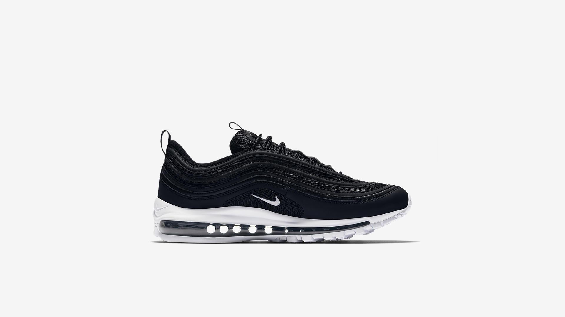 921826 001 Nike Air Max 97 Black White 4