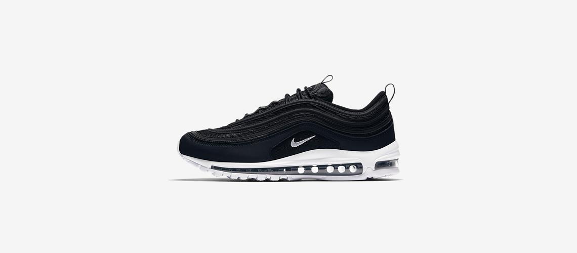 921826 001 Nike Air Max 97 Black White