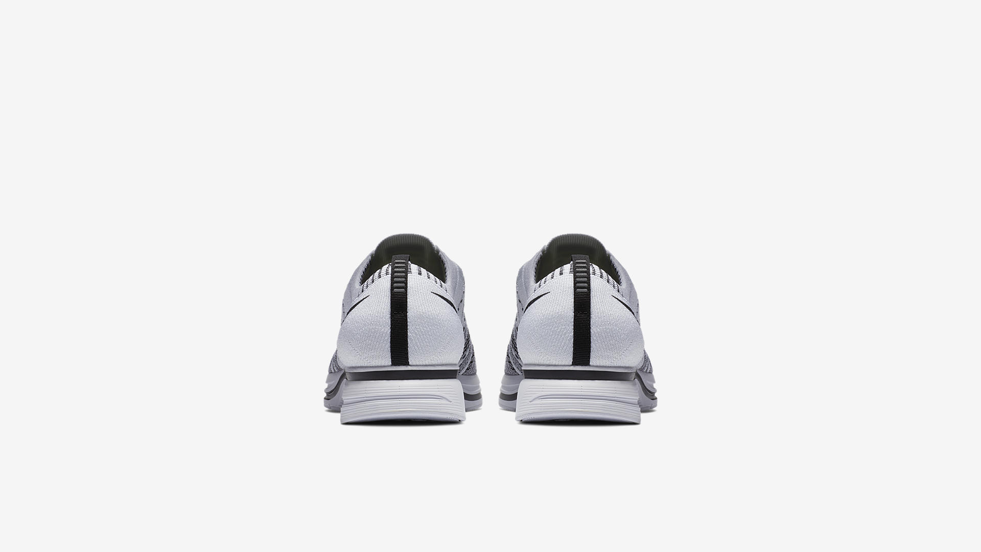 AH8396 100 Nike Flyknit Trainer White Black 2
