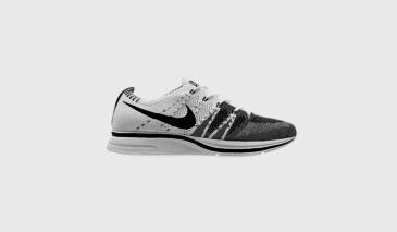 Nike Flyknit Trainer – White / Black