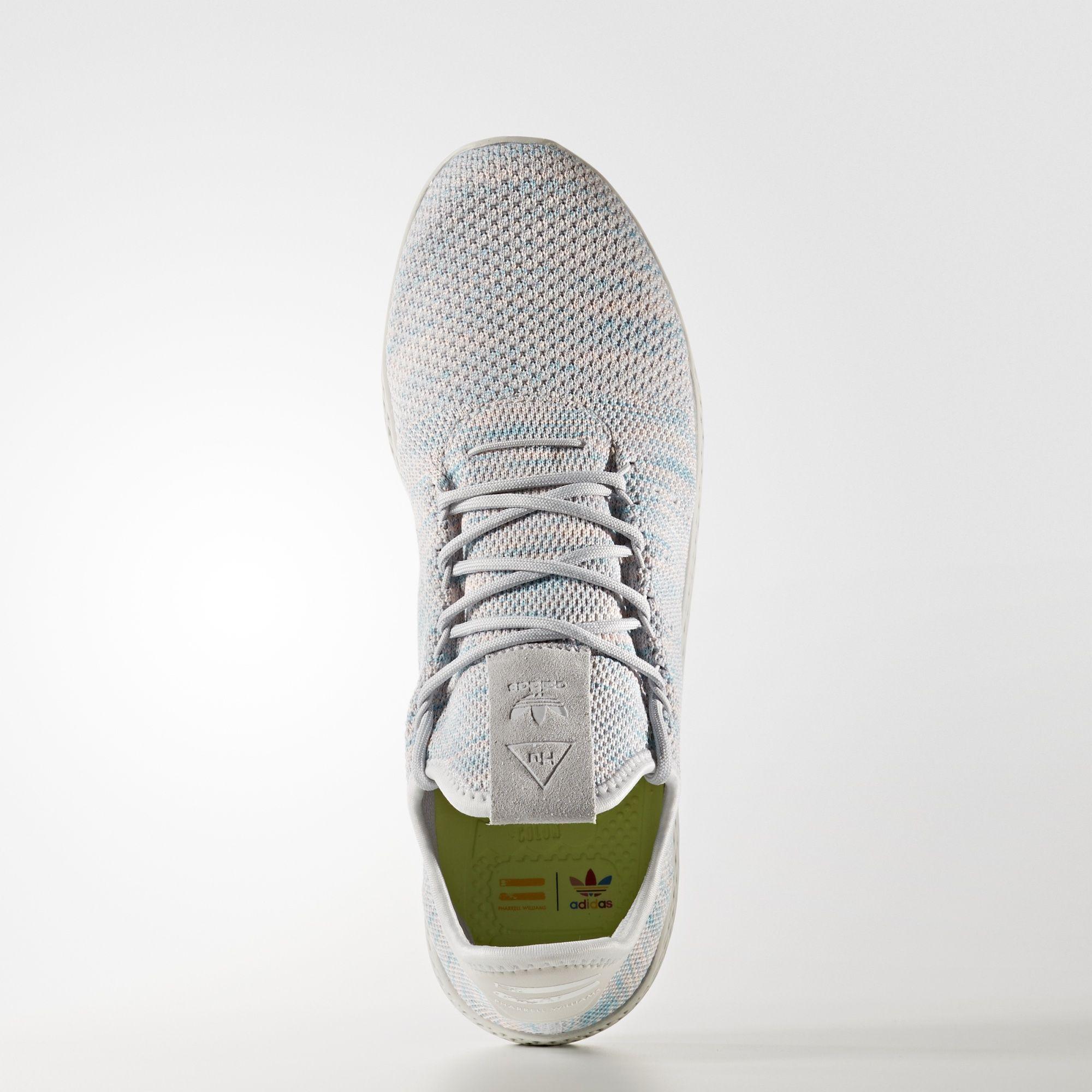 BY2671 Pharrell Williams x adidas Tennis HU Semi Frozen Yellow 1