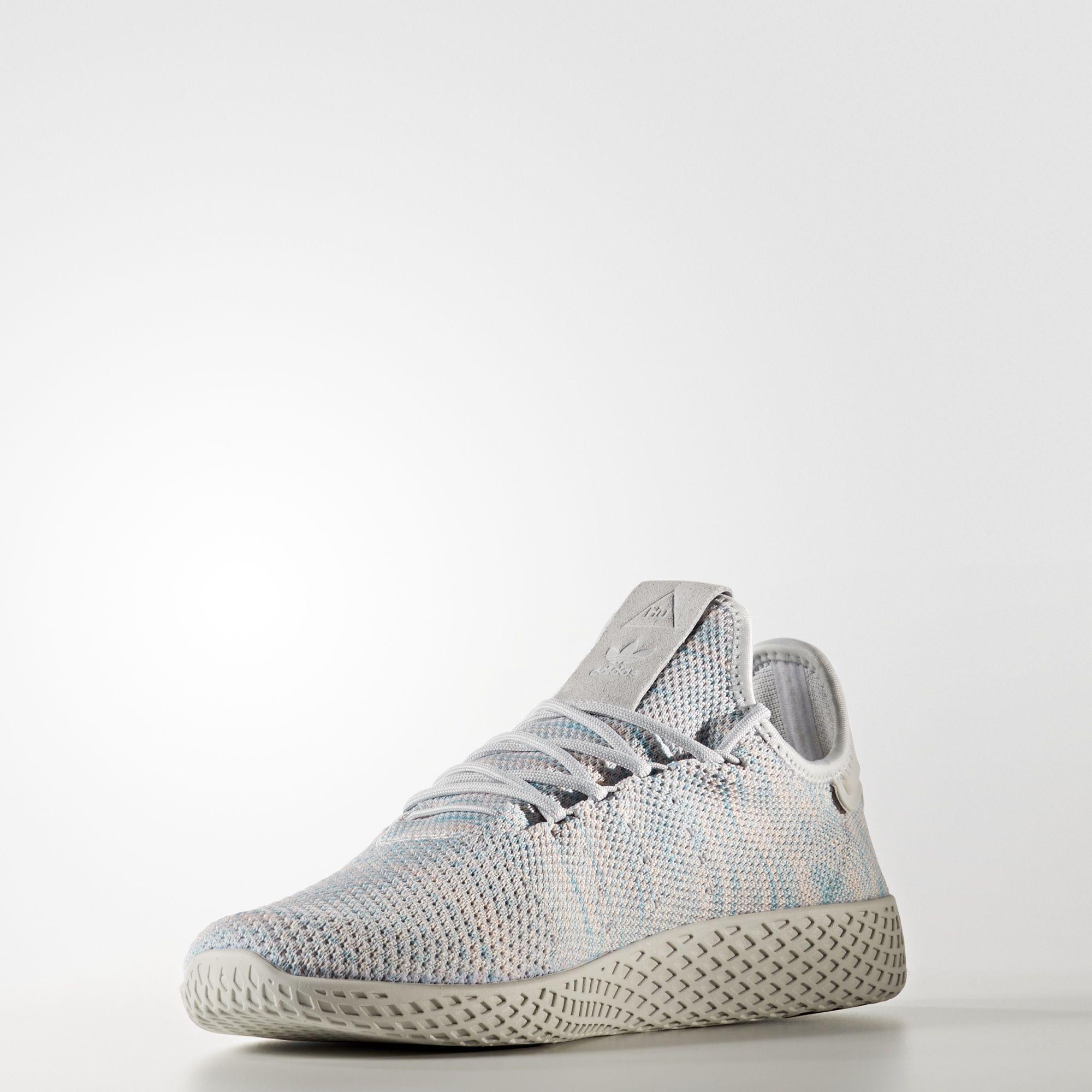 BY2671 Pharrell Williams x adidas Tennis HU Semi Frozen Yellow 2