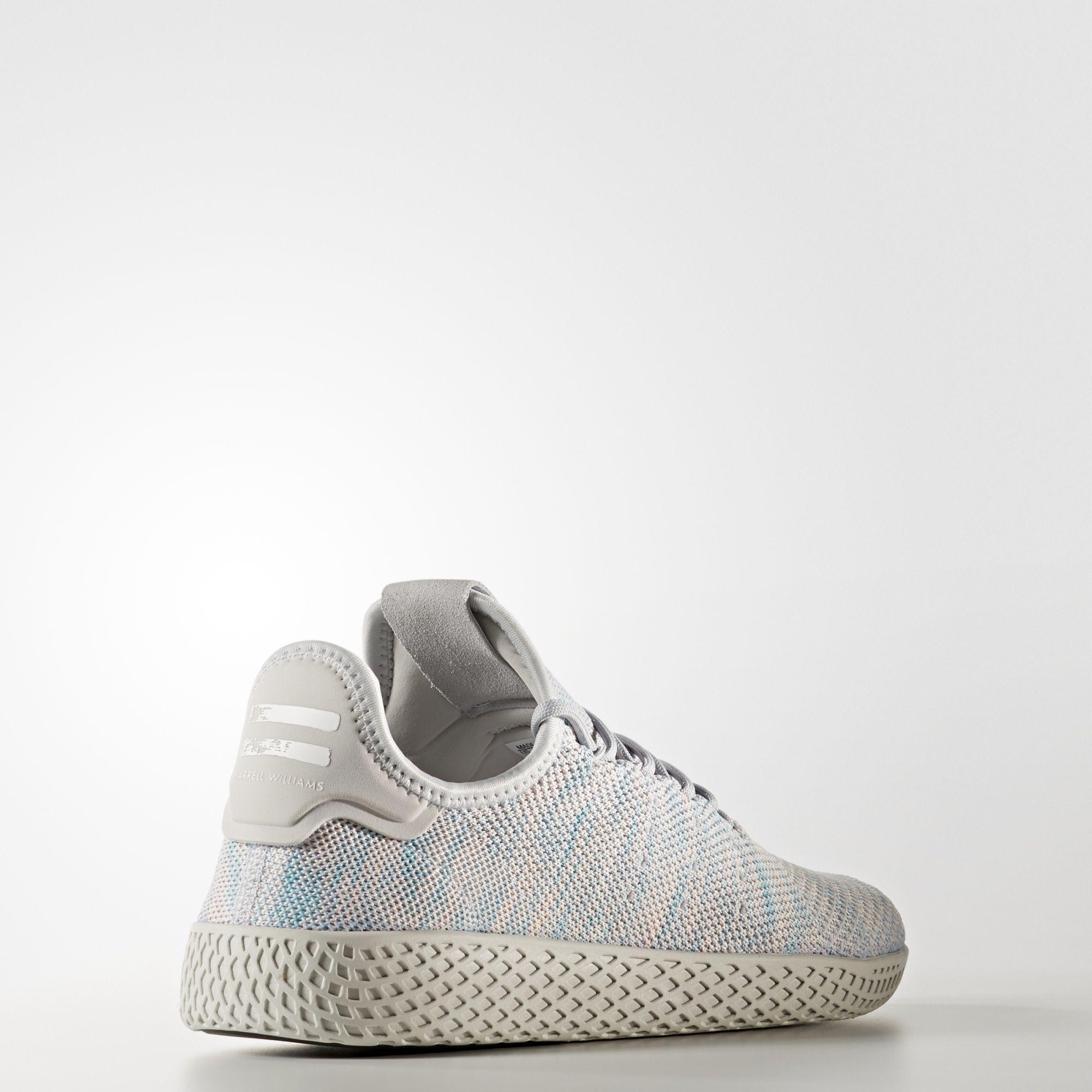 BY2671 Pharrell Williams x adidas Tennis HU Semi Frozen Yellow 3