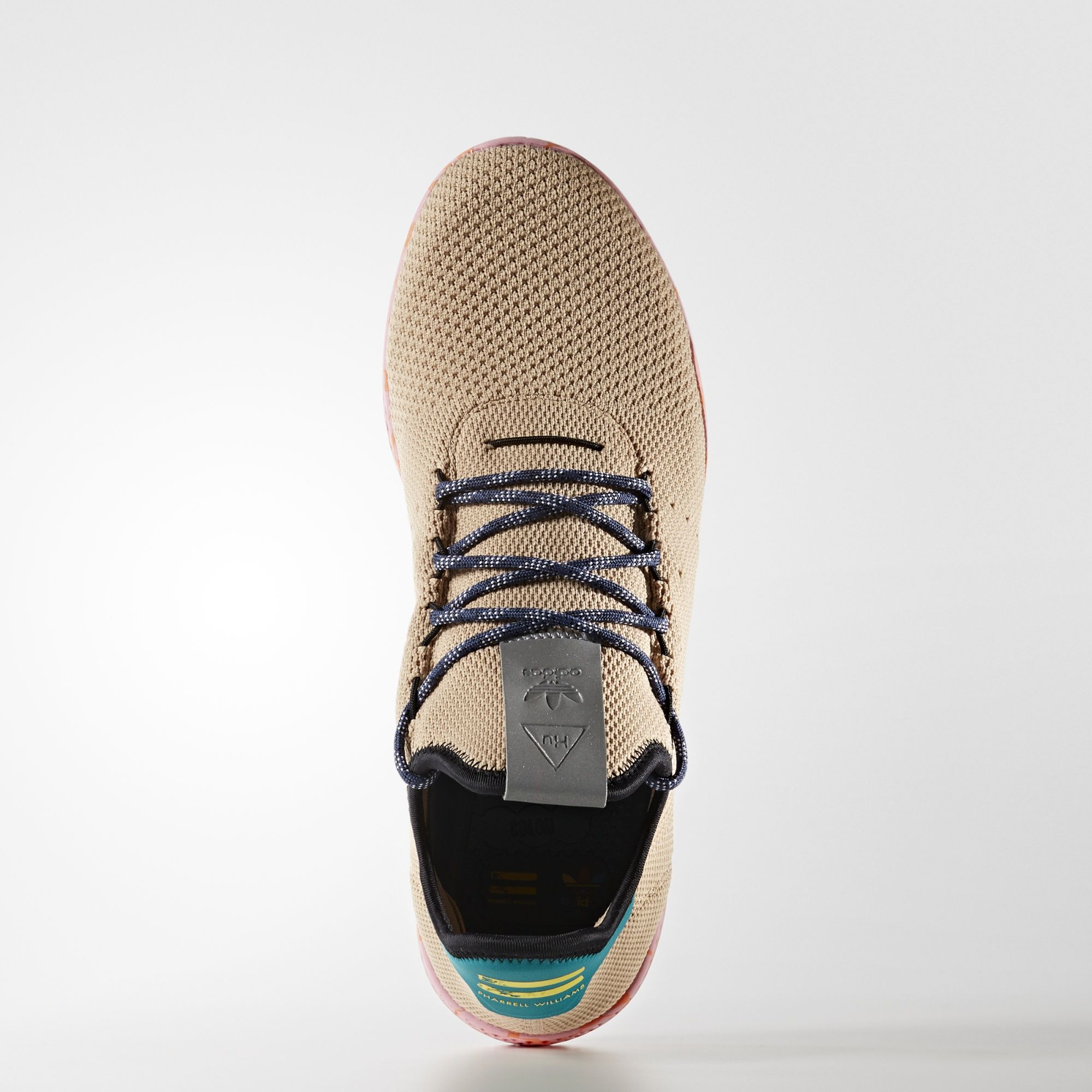 BY2672 Pharrell Williams x adidas Tennis HU Nomad Yellow 1