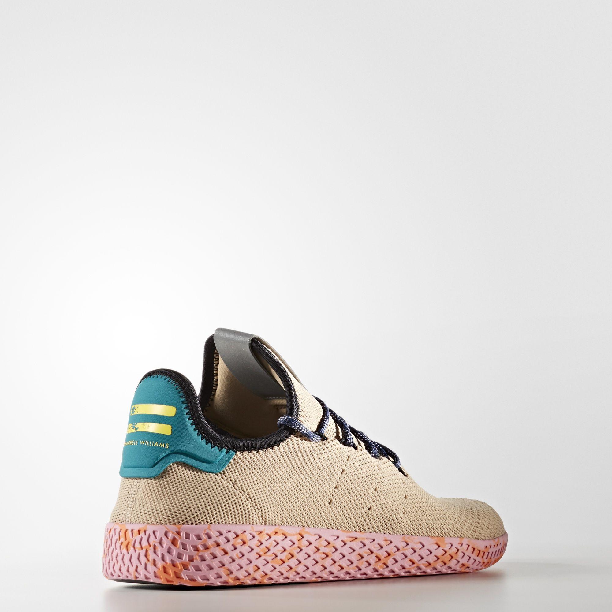 BY2672 Pharrell Williams x adidas Tennis HU Nomad Yellow 3